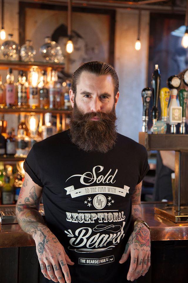 The Bearded Man Beard Oil | Cortex Ltd Hair Products Distributors - Malta