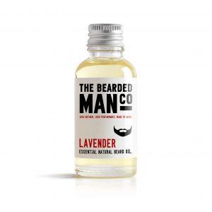 lavander beard oil