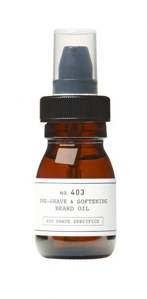 Pre-Shave & Softening Beard Oil 403