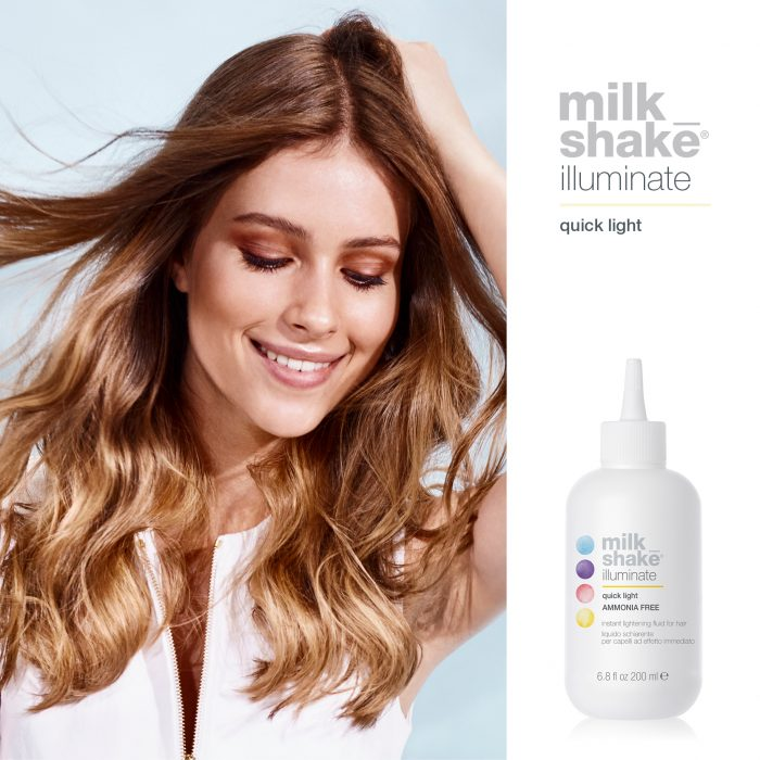 Illuminate hair lightening