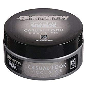 gummy casual look wax